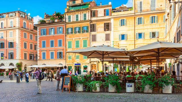 Découvrez les trésors de Rome dans un hôtel haut de gamme