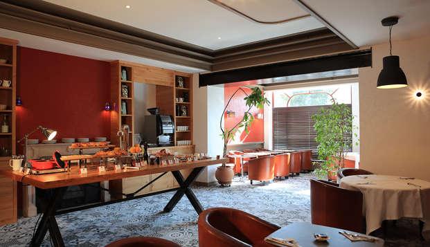 Hotel The Originals Aurillac Grand Hotel Saint-Pierre ex Qualys-Hotel - buffet