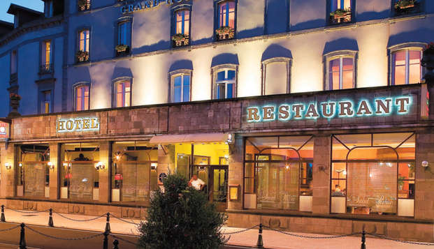 QUALYS-HOTEL Aurillac Grand Hotel Saint-Pierre - front