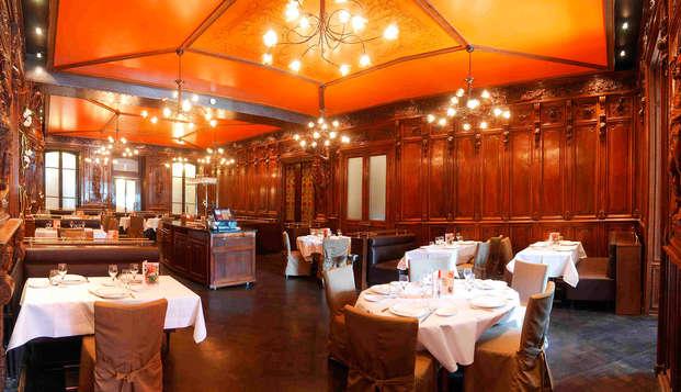 Hotel The Originals Aurillac Grand Hotel Saint-Pierre ex Qualys-Hotel - restaurant