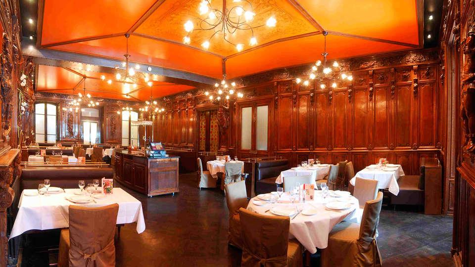 Hotel The Originals Aurillac Grand Hôtel Saint-Pierre (ex Qualys-Hotel) - EDIT_restaurant1.jpg