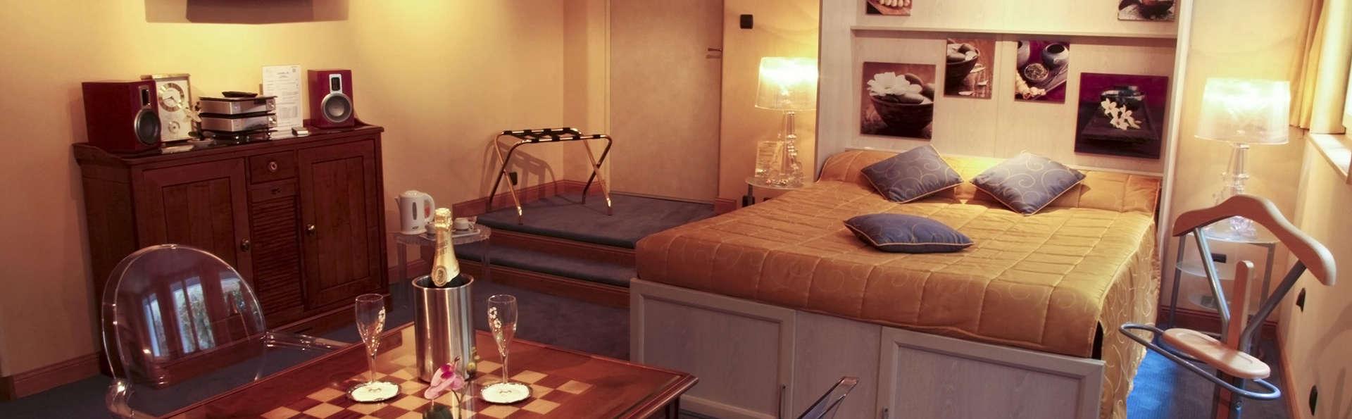 Week-end romantique en chambre VIP à Saint-Brieuc