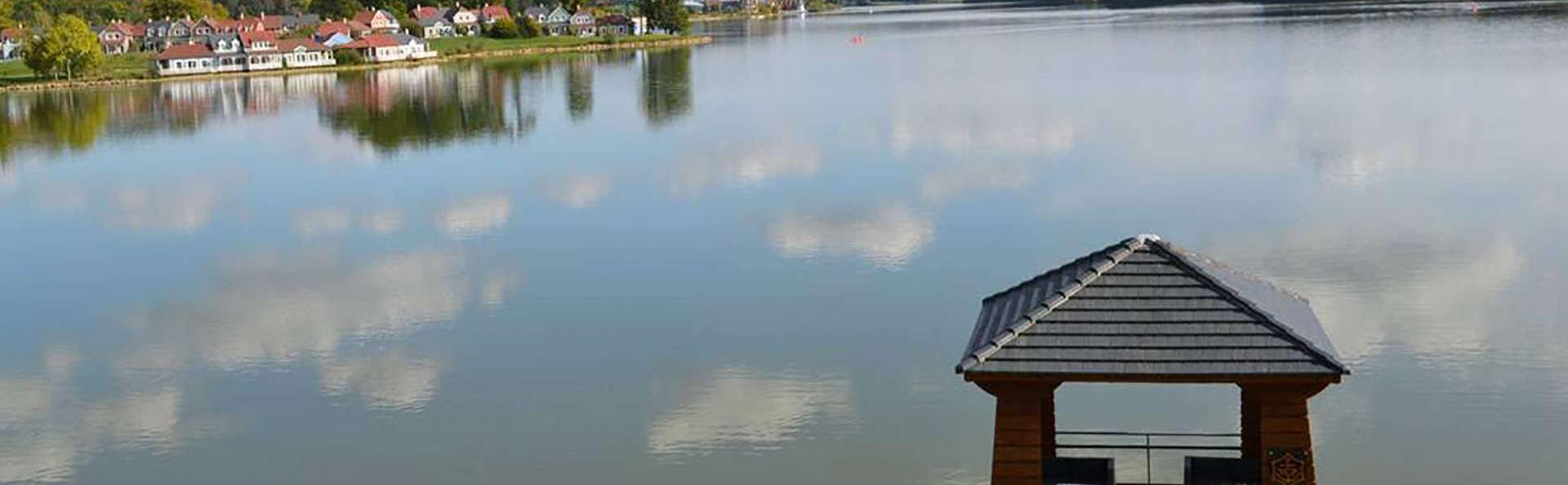 Dépaysement sur les bords du lac de l'Ailette près de Reims