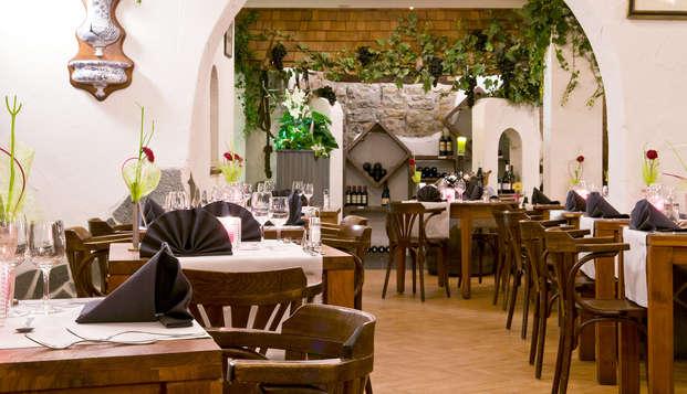 Gastronomisch wellnessweekend met 2 diners in hartje Ardennen (2 nachten)