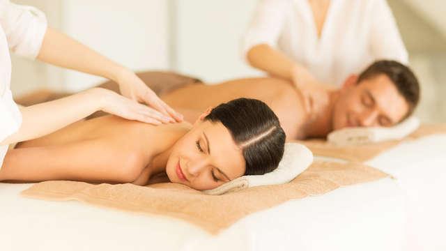 1 massaggio rilassante per 2 adulti