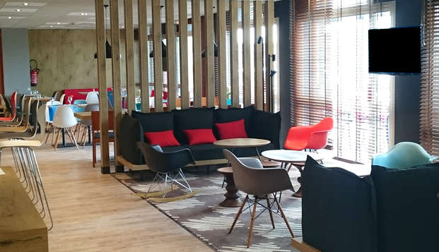 Hotel Ibis Saint Malo La Madeleine - lounge