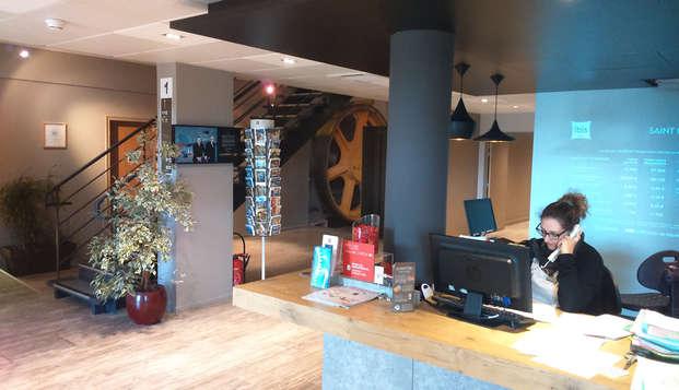 Hotel Ibis Saint Malo La Madeleine - reception