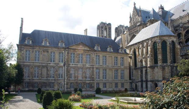 Espacade citadine à Reims avec visite du Palais du Tau