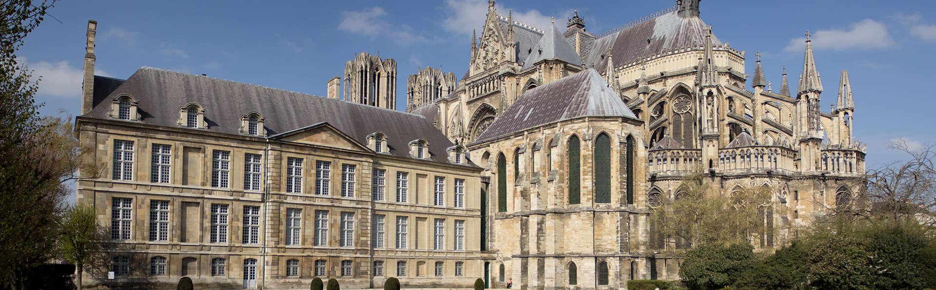 Week-end détente à Reims avec entrée au Palais du Tau