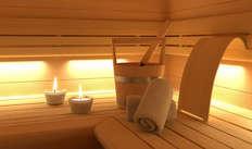 1 Accès au sauna pour 2 adultes