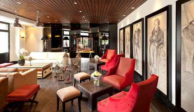 Hotel et Spa le Nouveau Monde - Lobby