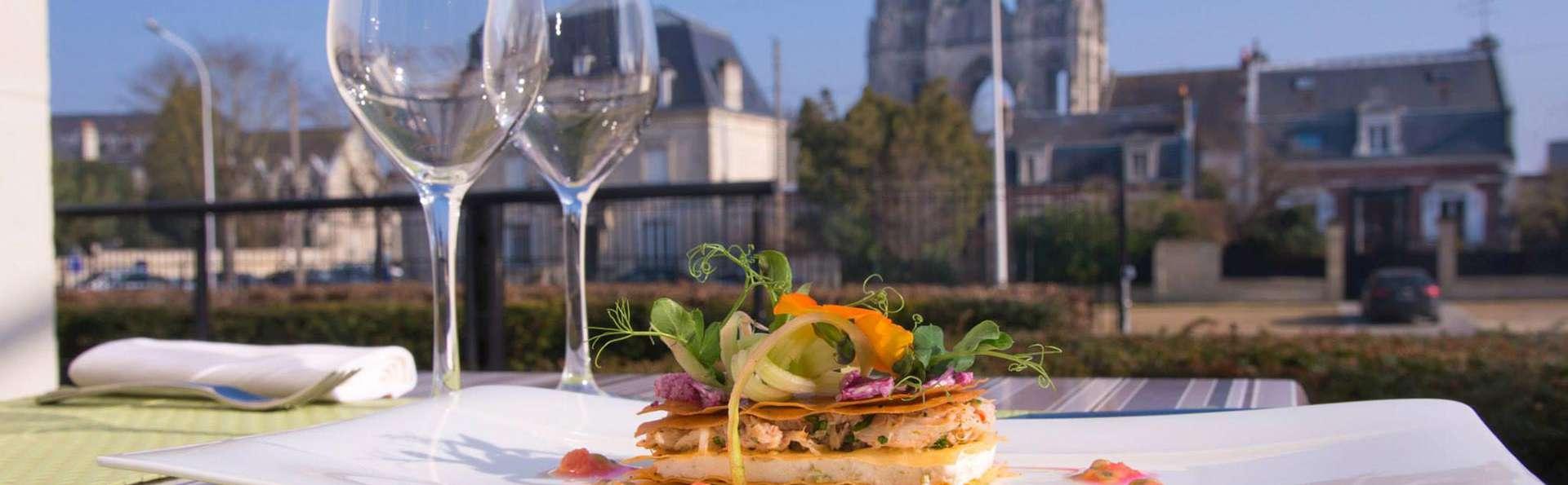Parenthèse détente avec dîner à une heure de Paris