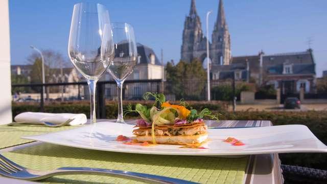 Relaxtripje inclusief diner op een uur rijden van Parijs