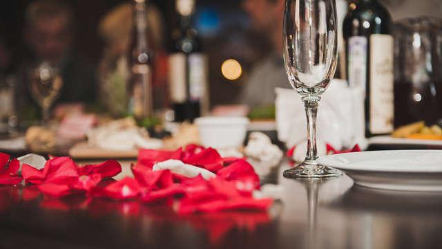 Séjour gourmand en amoureux pour la Saint-Valentin au Domaine de la Courbe