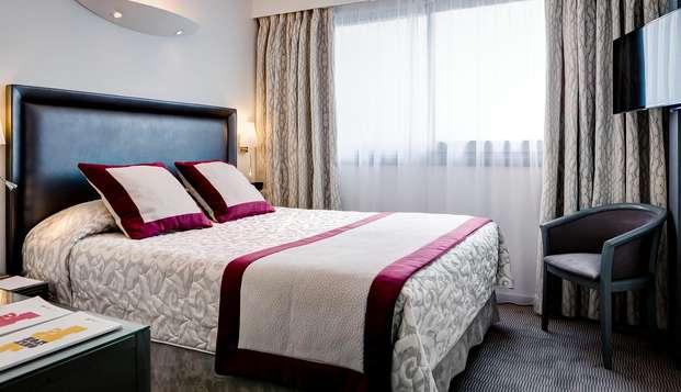 Hotel Axotel Perrache - chambre