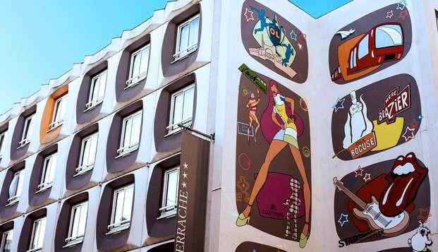 Hotel Axotel Perrache - facade