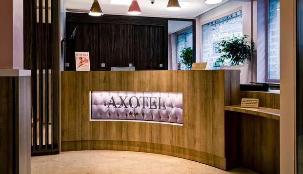 Hotel Axotel Perrache - reception
