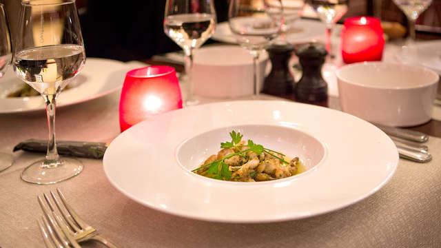 Profitez d'un dîner gourmand (boisson inclus) dans les Ardennes