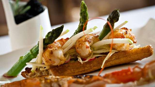 Week-end avec dîner gastronomique en Provence dans un château**** près d'Orange