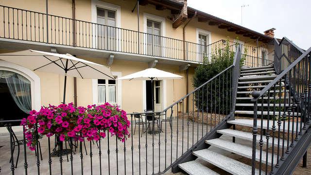 Gusto e relax: soggiorno con cena e late check- out ad un passo da Torino!