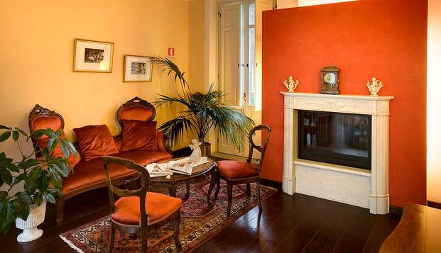 Ad un passo da Torino in elegante hotel di charme