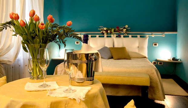 Soggiorno romantico in suite con jacuzzi e late check-out!