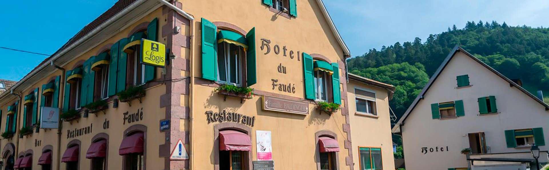 Hôtel de charme avec espace détente et dégustation de vins alsaciens
