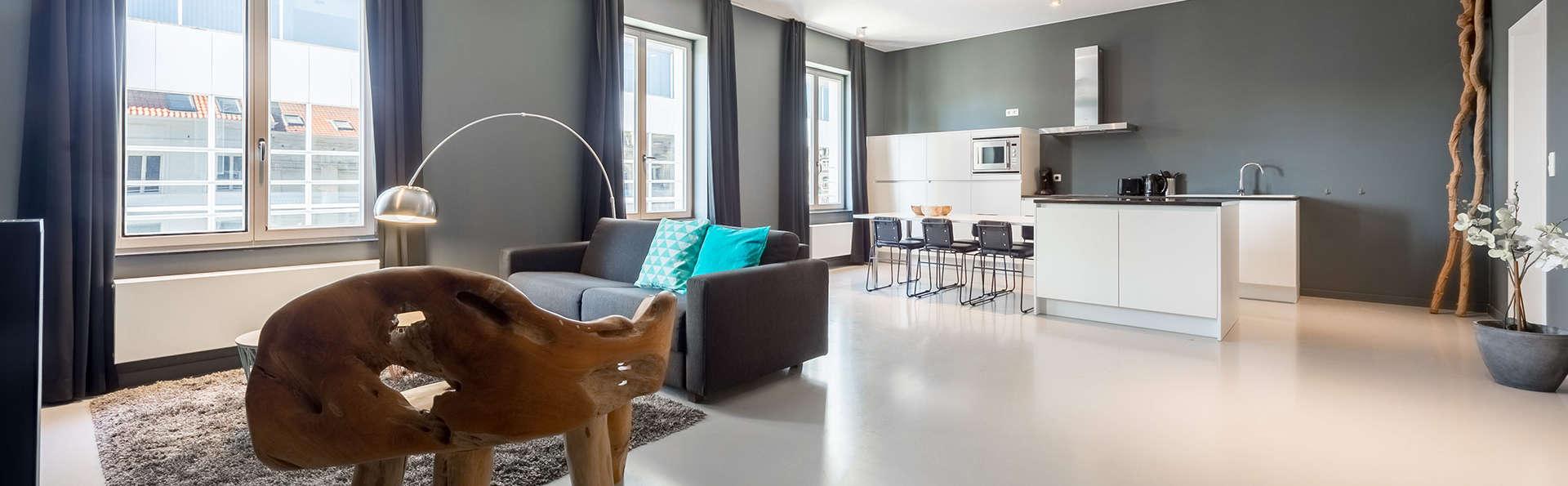 Verblijf in een ruim appartement in hartje Brussel