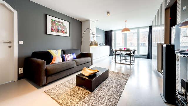 Turismo en Bruselas en un apartamento para 4 personas