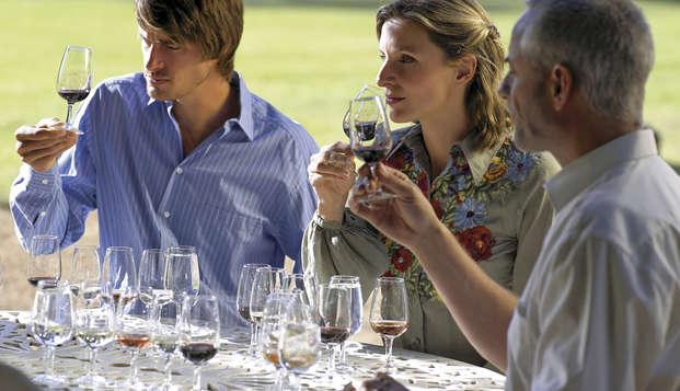 Dégustation d'huiles et de vins de l'Alt Empordà dans un hôtel de charme 4*