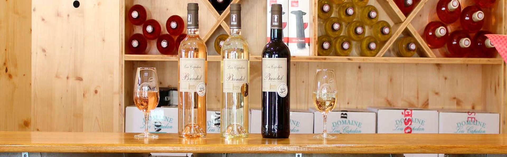 Week-end hors du temps à Saint-Cyr-sur-Mer avec dégustation de vin
