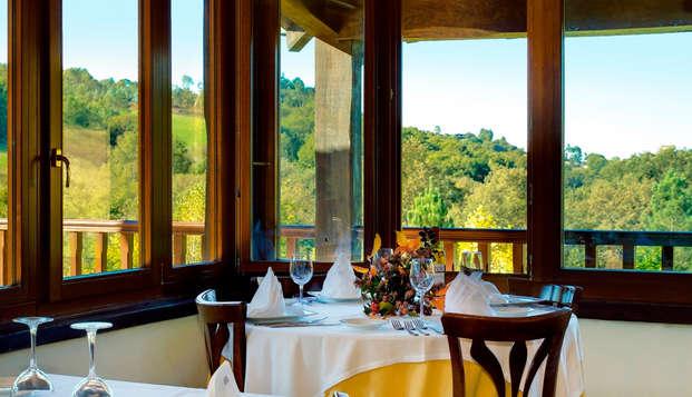Gastronomía y Relax: escapada en un balneario con cena y spa