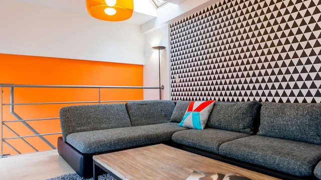 Experiencia inolvidable en Bruselas en un moderno apartamento (hasta 6 personas)