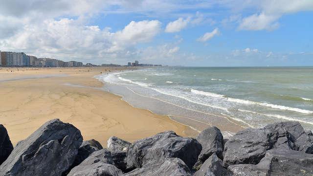 Romanticismo y sauna con vistas al mar en Ostende