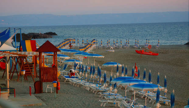 Quédate junto al mar en Amatea en Calabria