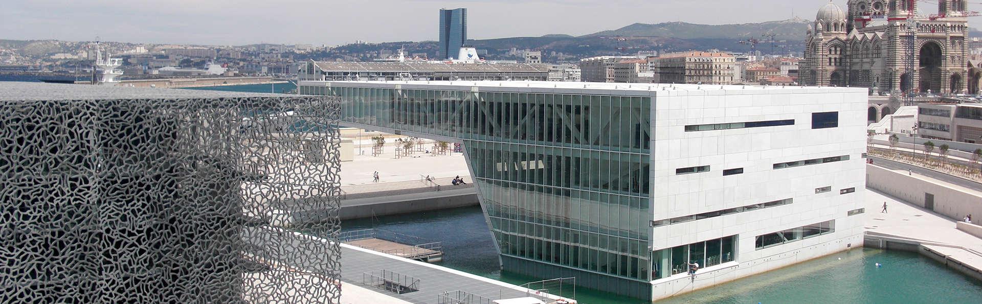Découverte de Marseille avec entrées pour le MuCEM (à partir de 2 nuits)