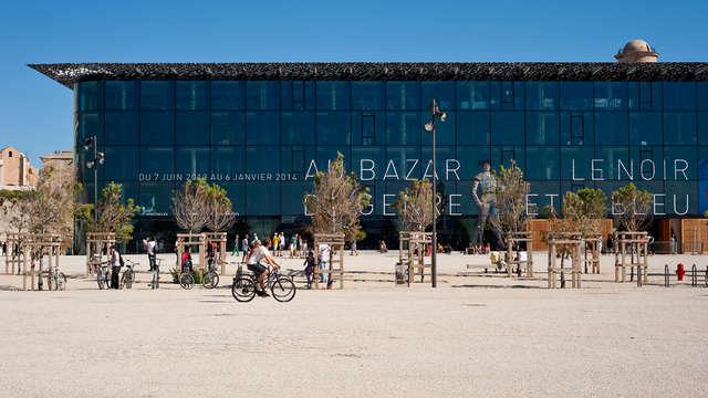 Billet pour le Mucem et séjour 3* à Marseille
