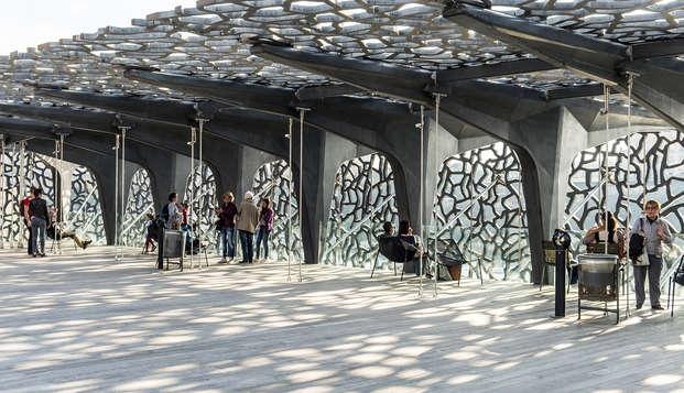 Billet pour le Mucem et séjour 3* au cœur de Marseille