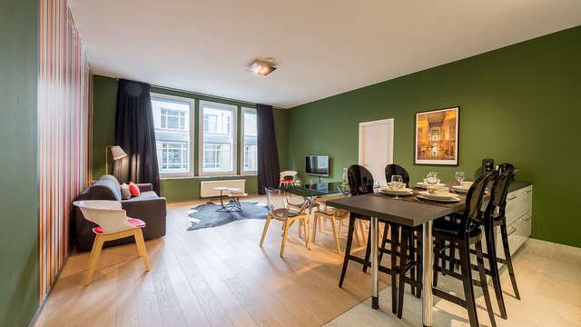 Conoce el corazón de Bruselas alojándote en un apartamento de lujo (hasta 6 personas)