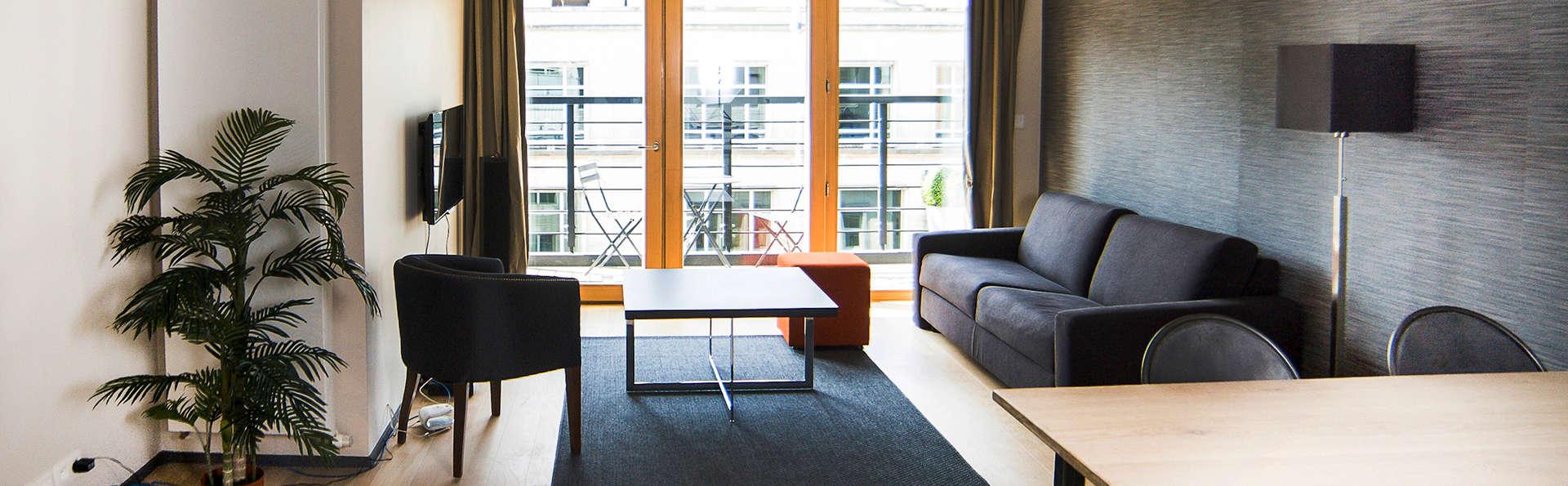 Profitez d'un appartement de luxe à Bruxelles