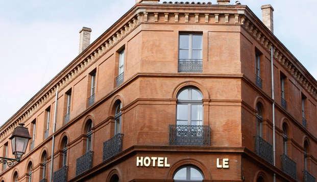 Hotel Le Grand Balcon - front