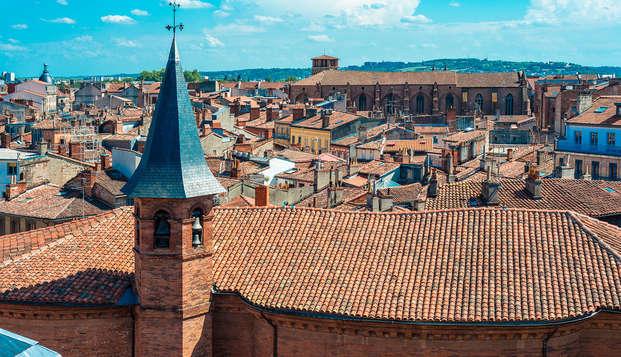 Week-end de charme en chambre privilège à deux pas du Capitole à Toulouse