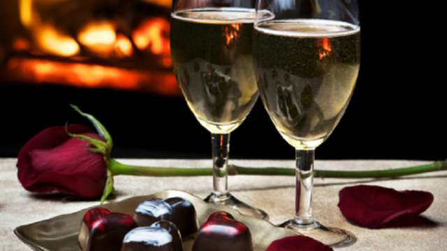 Bouteille de vin mousseux
