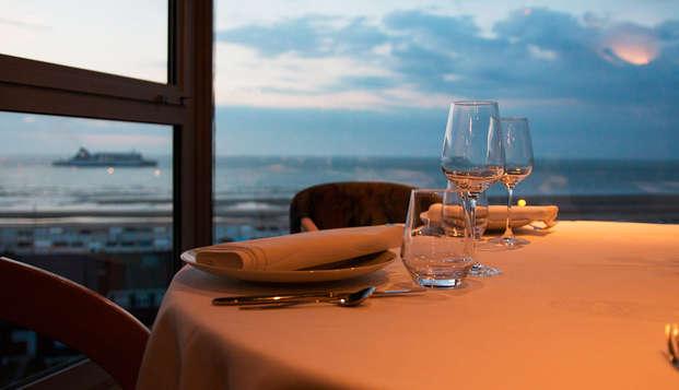 Week-end d'évasion avec vue panoramique et dîner à Coquelles