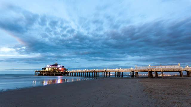 Descubre Blankenberge en un estudio con vistas al mar (desde 2 noches)