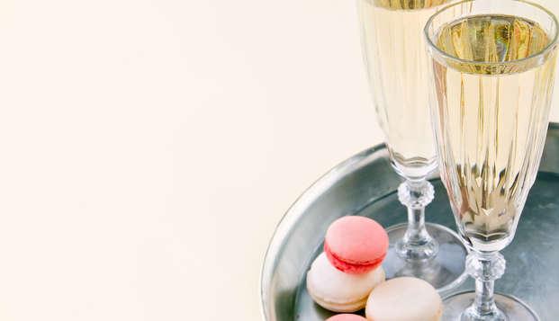 Profitez d'un week-end romantique avec Spa et Champagne près de Rennes