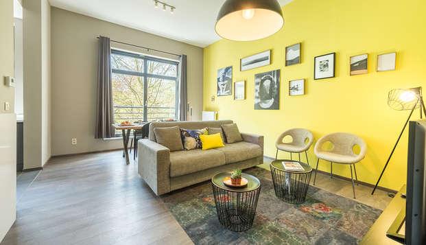 Apartamento en el centro de Bruselas (hasta 4 personas)