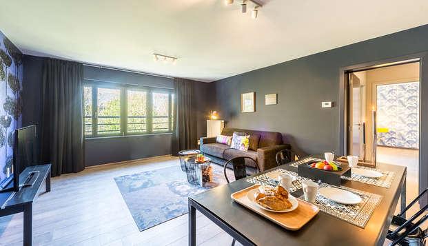 Descubre la Grand-Place de Bruselas con alojamiento en un apartamento (hasta 4 personas)