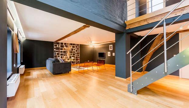 Sabores de Bruselas con alojamiento en un apartamento para 6 personas