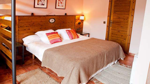 Romanticismo y relax en privado en la Montaña con bañera hidromasaje